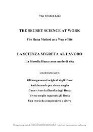 the secret science at work la scienza segreta al lavoro