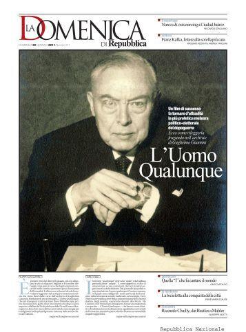 30 gennaio 2011 - La Repubblica