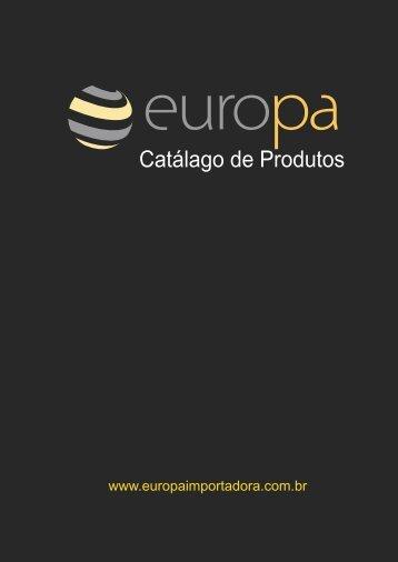 Catalago de Alimentos 2012 - Europa Importadora