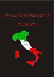 Catalogo Productos Italianos - Exclusivas GMA