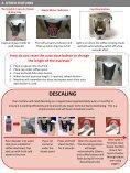 User Manual AEG Favola and Favola Plus - Lavazza Store - Page 5