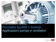 Motori a riluttanza variabile IE4 - VTF Sistemi