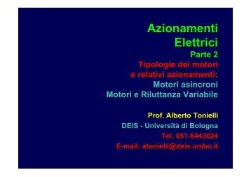 Azionamenti Elettrici - Valentiniweb