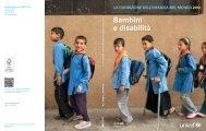 Bambini e disabilità - Unicef