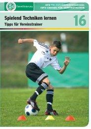16 - Spielend Techniken lernen - FV Griesheim