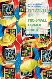 Initiatives On Pro-Small Farmer Trade - Asian Farmers Association ...