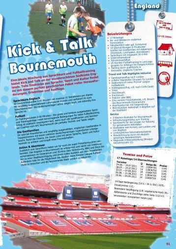Kick & Talk - GO Jugendreisen