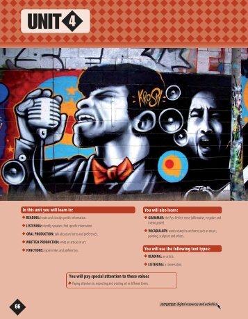 UNIT 4 - Ediciones Cal y Canto