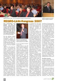 REGRO-Licht-Kongress 2007 REGRO-Licht-Kongress 2007