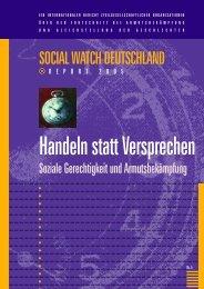 Fünfter Social Watch Deutschland Report (pdf)