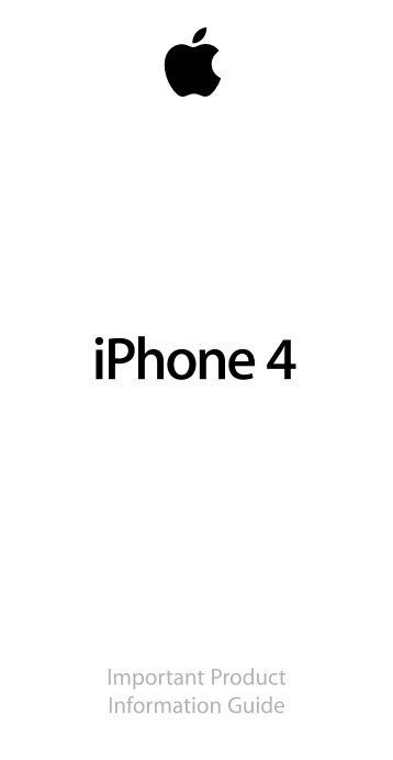iPhone 4 - Mobile Manufacturers Forum