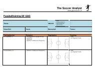 Fussballtraining 90' GAG - The Soccer Analyst