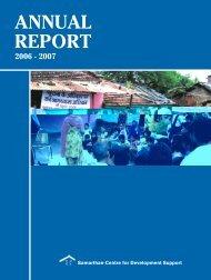 Annual Report - English - Samarthan