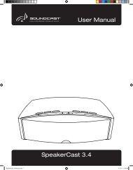 SpeakerCast 3.4 User Manual - Soundcast