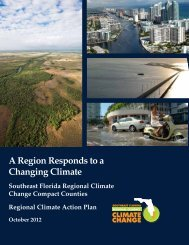 A Region Responds to a Changing Climate - Southeast Florida ...