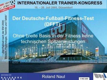 Deutscher Fußball Fitness Test (DFFT)