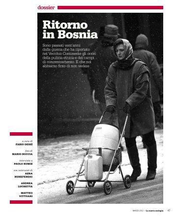 "dossier ""Bosnia"" (pdf) - Insieme"