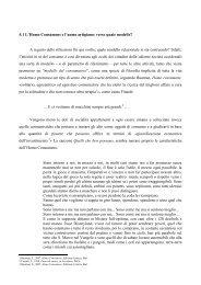 5.1 L'Homo Consumens e l'uomo artigiano: verso quale modello? A ...