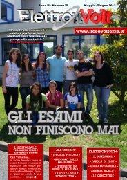 Giornalino ElettronVolt n. 6 (Giugno 2012) - Liceo Scientifico Statale ...