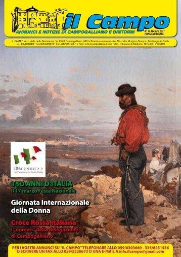 Numero 16 Marzo 2011 - Il Campo