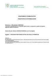 ASL BOLOGNA_SU_802_2013_DETE.pdf - Ordine dei Farmacisti ...
