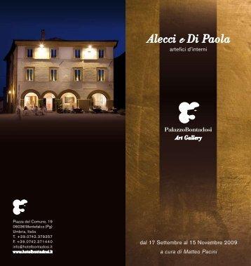Depliant (PDF) - Alecci e Di Paola