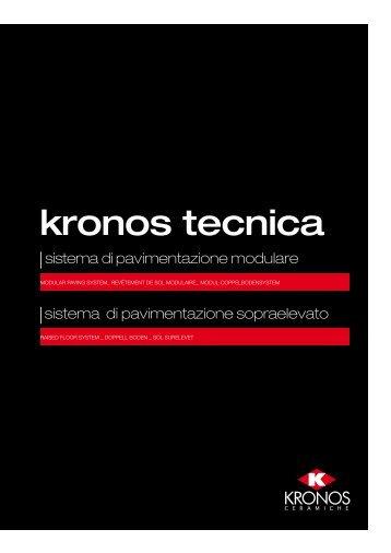 kronos tecnica - Pavimenti per esterni