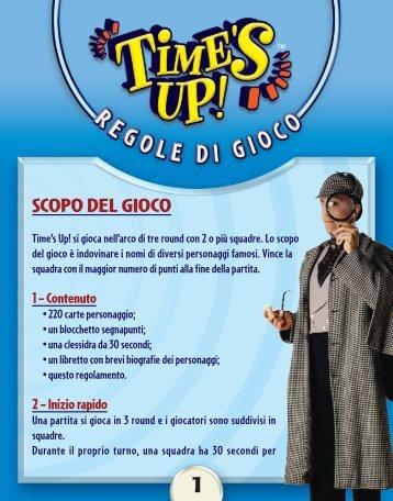 Regolamento italiano - Asterion Press