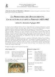 programma e iscrizione - Circolo di cultura Mendrisio e dintorni