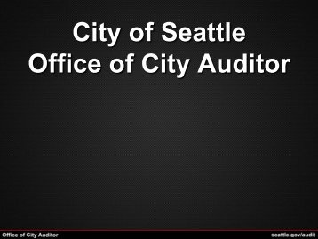 Lorem Ipsum - Seattle City Clerk's Office - City of Seattle