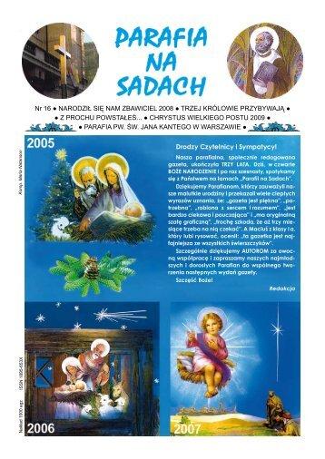 Parafia na Sadach - Parafia sw. Jana Kantego w Warszawie