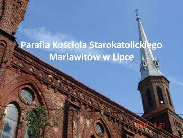 Parafia Kościoła Starokatolickiego Mariawitów w Lipce