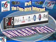 IPv6 Forum Roadmap & Vision 2010