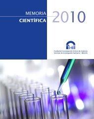 Memoria Científica INCLIVA 2010 - Instituto de Investigación ...