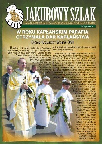 w roku kapłańskim parafia otrzymała dar kapłaństwa - Parafia Obra