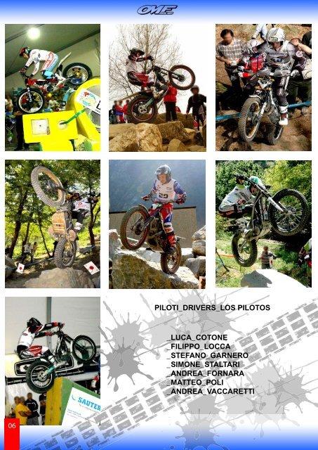 catalogo generale trial 2012 - omf special parts