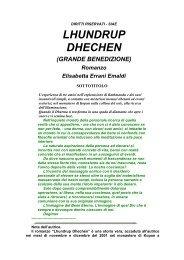 LHUNDRUP DHECHEN - Estro-Verso