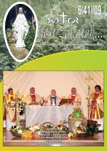 Jest Zakątek 6(41) - Parafia Narodzenia Najświętszej Maryi Panny w ...