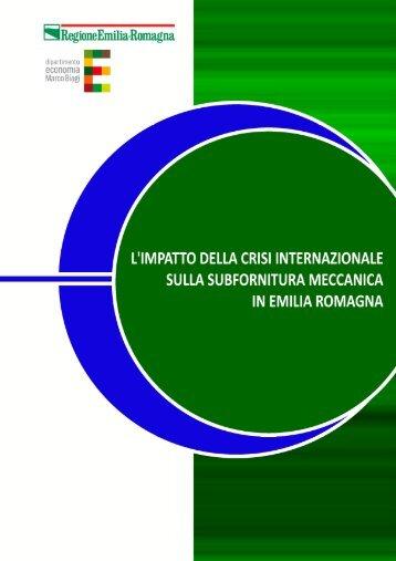 RER_Subfor Meccanica_Rapporto_2012.pdf - Ricerche ed ...