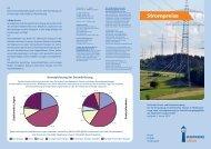 Flyer Strompreise (PDF bitte klicken) - Stadtwerke Lingen GmbH