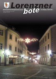 Lorenzner Bote - Ausgabe Januar 2007 (2,13 MB) (0 bytes)