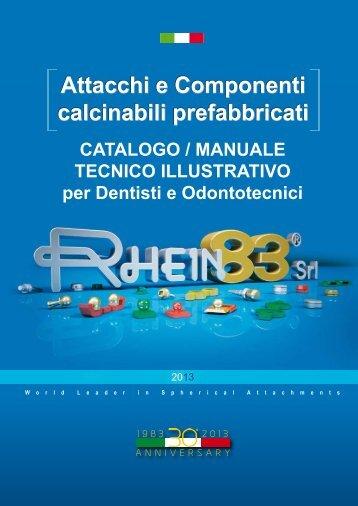 Attacchi e Componenti calcinabili prefabbricati - Rhein83