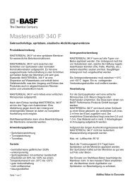 Masterseal® 340 F - BASF Performance Products GmbH