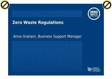 Zero Waste Regualtions, ZWS - EAUC