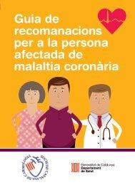 Guia de recomanacions per a la persona afectada de malaltia coronària