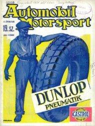 Automobil motorsport 1928 3. évfolyam 19. szám - EPA