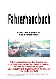 Lenk- und Ruhezeiten Sozialvorschriften - Fuhrpark-Service.at