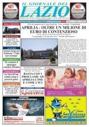 APRILIA, DISCARICA DI ROMA? - Il Giornale del Lazio
