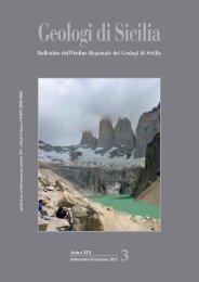 Gds_3 Anno 2011 - Ordine Regionale dei Geologi di Sicilia