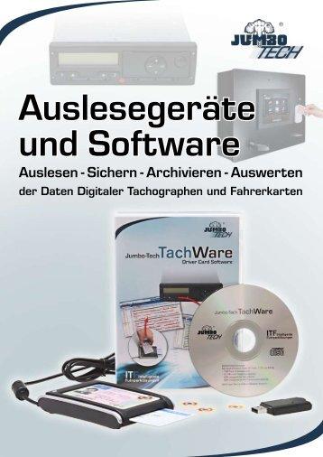 TachWare & Auslesegeräte - Jumbo-Fischer